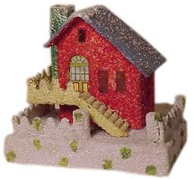 A History of Dimestore Christmas Village Houses