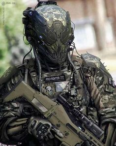 Airsoft hub is a social network that connects people with a passion for airsoft. Talk about the latest airsoft guns, tactical gear or simply share with others on this network Suit Of Armor, Body Armor, Military Gear, Military Weapons, Military Equipment, Taktischer Helm, Tactical Armor, Military Special Forces, Futuristic Armour