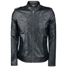 Batman  Imitation Leather Jacket  »Arkham Knight« | Buy now at EMP | More Fan merch  Imitation leather jackets  available online ✓ Unbeatable prices!