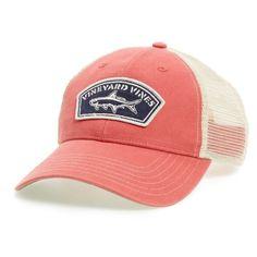 413c56c2438d0 Men s Vineyard Vines Tarpon Patch Trucker Hat (110 BRL) ❤ liked on Polyvore  featuring