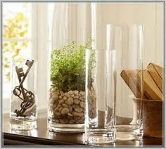 Image Result For Clear Vase Centerpieces Ideas Apothecary Decor Gl Vases Large