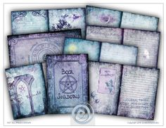 book of shadows, diy journal, and journal pages image
