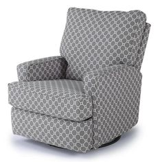Best-Chairs-Kersey-Upholstered-Swivel-Glider-Recliner-Gray-Geo