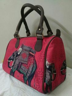 Elephant Digital Print Hand bag for only 1049/-