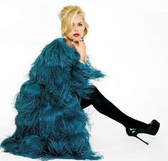 ostrich feather coat... I WILL FIND A REASON TO WEAR EVERYDAY!!!