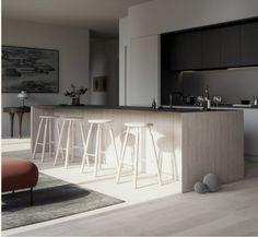 Layout Design, Küchen Design, Penthouse Apartment, Apartment Interior, Luxury Loft, Luxury Homes, Plymouth, Soho, Leonard Street