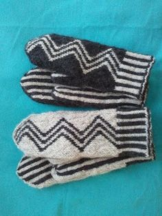 Made by Chippzan: Mönster Knit Mittens, Mitten Gloves, Knitting Accessories, Dory, Twine, Hand Knitting, Pattern, Inspiration, Sew