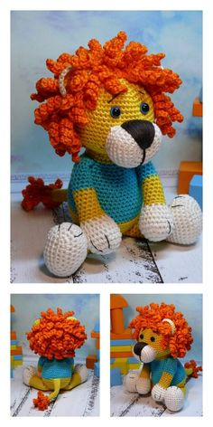 Crochet amigurumi 308567011972227510 - Source by pascalepigeon Crochet Easter, Crochet Fox, Crochet Animals, Crochet Pattern Free, Crochet Patterns Amigurumi, Amigurumi Doll, Easy Knitting Projects, Easy Knitting Patterns, Crochet Projects