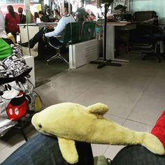 No_bob waiting for his first Filipino bus ride to Baguio... #No_bob #Travel #JoyBus #Philippines #OhTheHumidity