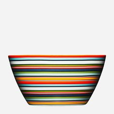 Origo Bowl, Orange - modern - dinnerware - - by Iittala