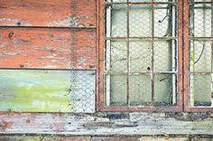Doors and Windows - Art - Old barn window  by Tom Gowanlock