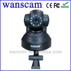 Wanscam(Model JW0012)- 32G SD Card Pan/Tilt Popular Indoor IP Wifi Robot Camera