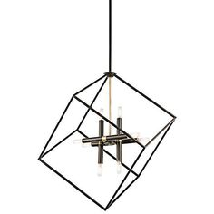 "Kichler Cartone 25 1/2"" Wide Olde Bronze Pendant Light"