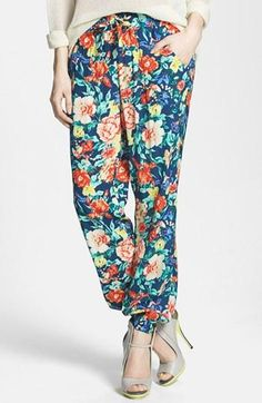 New favorite pants- Floral Jogger Pants