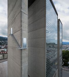 Lang-Baumann, Beautiful Steps #2, 2009, 177 x 523 x 458 cm, zincked steel, anodized aluminum. Biel-Bienne (Switzerland). Courtesy Kunstsammlung deer Stadt Biel-Bienne. Photo : Lang-Baumann.