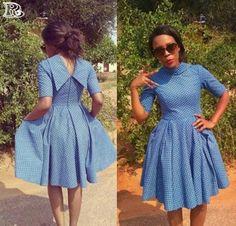 Astonishing Traditional Shweshwe Dresses 2019 New;We have come to get a handle on Kente surface with Seshweshwe Dresses, African Fashion Ankara, African Dresses For Women, African Print Fashion, African Attire, African Outfits, African Print Dress Designs, African Print Dresses, African Design