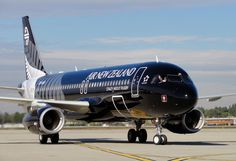 Air New Zealand All Blacks on a delivery flight at LAX, @ SpeedbirdHD Jetstar Airways, New Zealand Flights, All Blacks Rugby, Airline Logo, Air New Zealand, Ferns, Airplanes, Commercial, Delivery