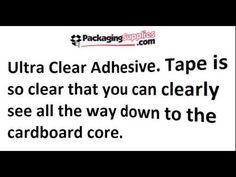 Ultra Clear Tape