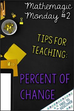 Tax and discount can be a struggle for many students, but there are so many applications for these percent of change topics! Stop by the Free to Discover blog for some tips for teaching percent of change, and scoop up a free tax and discount discovery worksheet while you're there!