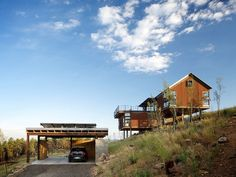 Sunshine Canyon House in Boulder, Colorado designed by Renée Del Gaudio Architecture