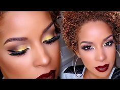 6 Naturals with a FLAWLESS Makeup Game on YouTube   Black Girl with Long Hair