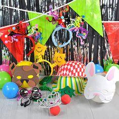 kit photocall fiesta infantil
