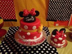 "Photo 2 of 38: Mickey Mouse Clubhouse or Minnie Mouse / Birthday ""Oh TWO-doles Sofie's CLubhouse Party!"" 
