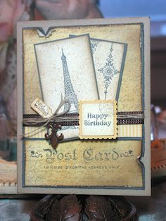 A birthday in Paris by micheyme - Cards and Paper Crafts at Splitcoaststampers
