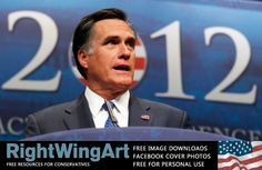 Image of Mitt Romney at the Conservative Political Action Conference (CPAC)