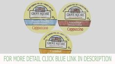 20-count GROVE SQUARE CAPPUCCINO K-Cup Variety Sampler Pack, Single-Serve Cups for Keurig Brewers	by Custom Variety Pack