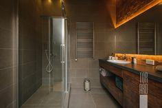 Квартира в Москве 47,00 кв.м • loft interior • Лофт • квартира-студия • душевая комната