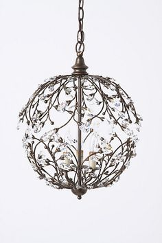 Super cool chandelier. Anthropologie, no longer available.