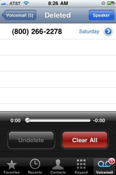 How to recover deleted iPhone voicemail messages