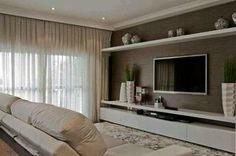 High Quality TV Wall Mount Ideas For Living Room, Awesome Place Of Television, Nihe And  Chic Designs, Modern Decorating Ideas.
