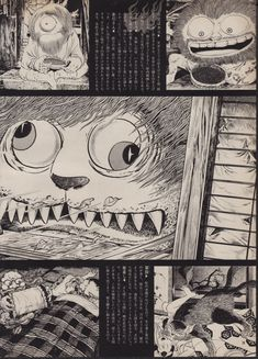 Shigeru Mizuki's Yokai Pages scanned from an August 1974 Yokai themed issue of The Sun which can be downloaded here. A...