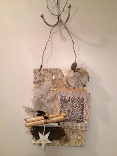 Adorno navideño hecho en el taller de Bambola Casa Creativa
