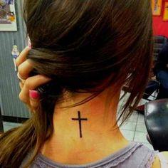 cross tattoo, want!!