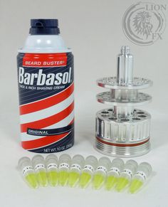 Jurassic Park Barbasol Cryogenics Canister Cryocan Cryo Can Prop Replica on Etsy, $234.99