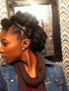 Natural hair, protective style, natural hair updo 4c natural hair. Easy updo