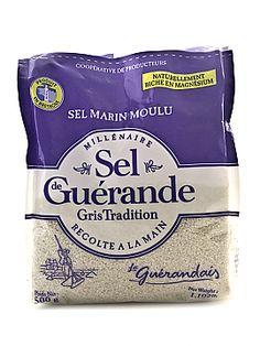 Le Guerandais Sel Marin Moulu - Sel de Guerande - Gris Tradition - Fairway Market