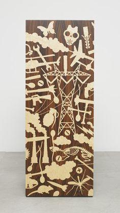 wood decorative wooden inlay by studio job