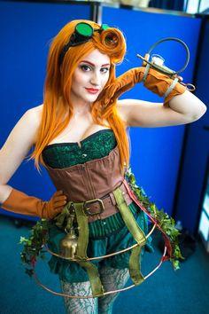 Poison Ivy by Demi Boyd | SDCC 2013 #Cosplay #Steampunk