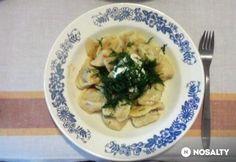 Pelmenyi -orosz, hússal töltött tészta