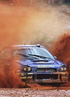 Subaru wrc....solberg