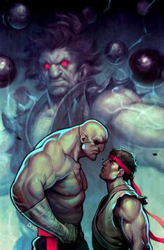 Street fighter characters by Doe