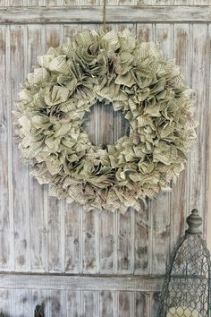 Happy At Home: Paper Wreath