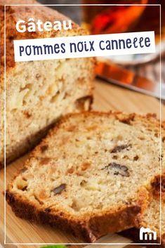 Gâteau pommes noix et cannelle /// #gâteau #noix #pommes #cannelle #dessert #marmiton #cuisine #recette Chrismas Cake, Cake Recipes, Dessert Recipes, Loaf Cake, Round Cakes, Biscuits, Banana Bread, Breakfast Recipes, Brunch