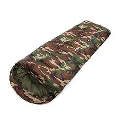 Best-selling Army Green Camo Ultralight Adult Sleeping Bag 3 Season Camping Hiking Travel Sleeping Bag Quilt Waterproof ** Read more reviews of the product by visiting the affiliate link Amazon.com on the image.