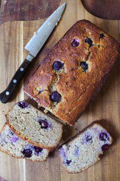 Blueberry Banana Bread 3