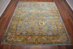 150 On Sale* New Anatolian Turkish Rug OUSHAK 6.0×7.0**180×213 ushak